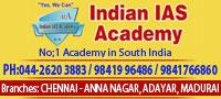 Indian IAS Academy, IAS coaching centers in Chennai