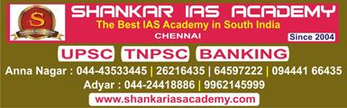 Shankar IAS Academy, Chennai