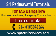 Sri Padmavathi Coaching Centre for IAS