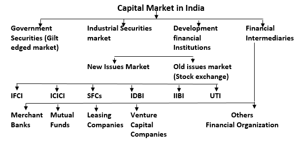 capital market 2 essay A capital market is a financial market in which long-term debt (over a year) or  equity-backed  2 examples 21 government on primary markets 22 company  on.