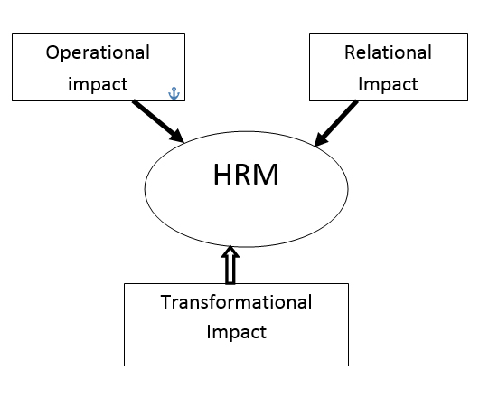 an assessment of the effects of technology on human resource management Motivational assessment to make sure a potential employee will fit in with the organization, a human resources manager may conduct a motivational inventory and an organizational assessment.